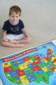 Owen and his United States puzzle